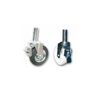 Highwork producto ruedas para andamio con hundillo - Ruedas para andamios ...